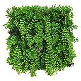 WAA Simulazione Pianta Muro Balcone Plastica Pianta Verde Muro Chiba Orchidea Prato Fiore Appeso A Parete Decorazione Porta Testa Balcone Coperto Tappeto Erboso