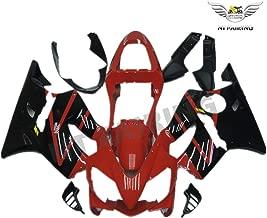New Glossy Black Red Injection Fairing Kit Plastic Bodywork for Honda 2001 2002 2003 CBR600 F4I