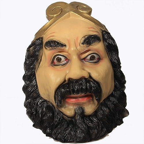Obtén lo ultimo XINXI Home Viaje a la Serie del Mono Máscara Máscara Máscara de Monje de Arena Bola de Disfraces de Halloween máscara Diverdeida máscara de látex para Niños  Las ventas en línea ahorran un 70%.