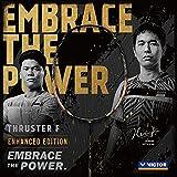 VICTOR Thruster F Enhanced Edition Power Series 4U G5 Unstrung Professional Badminton Racket