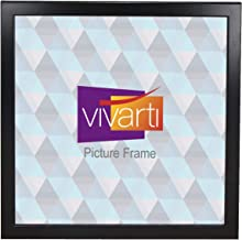 Thin Matt Black Ready Made Picture Frame, 60 x 60 cm,