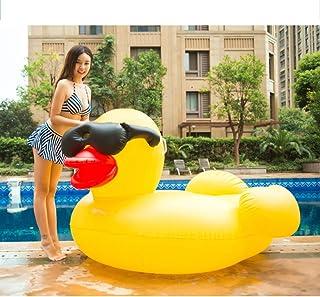 WEGCJU Flotador Piscina Gigante Pato Amarillo Grande Juguete De La Fiesta En La Piscina Playa Inflable Flotación Fila para Adultos Juguetes De Agua,220cm
