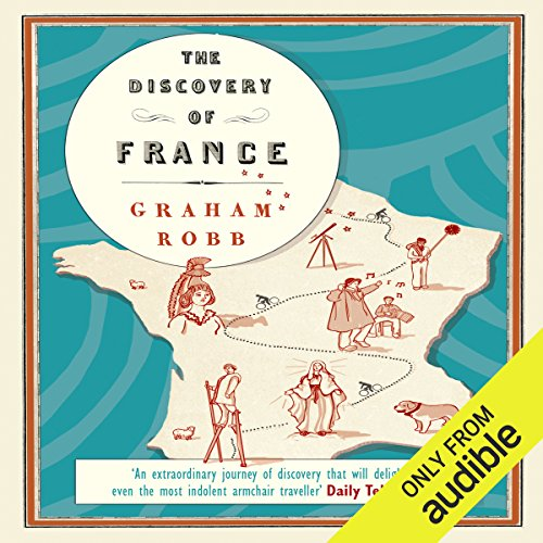 The Discovery of France audiobook cover art