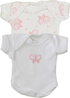 Babyprem Frühchen Kleine Frühgeborene Baby Kleidung 2 Bodies Mädchen 0-50cm