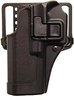 BLACKHAWK Serpa CQC Concealment Holster for Glock 43, Matte Black, Right Hand - 410568BK-R
