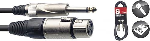 Stagg SMC10XP Câble d'instrument XLR-Jack 10 m Noir
