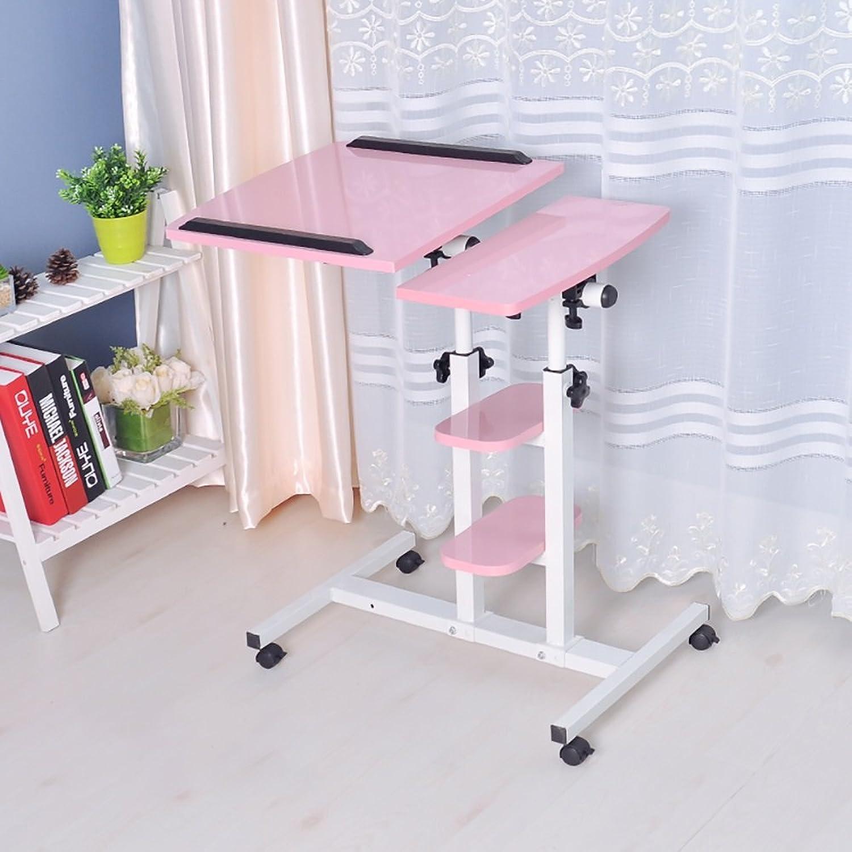 Laptop Desk redate Move Multifunction Table Adjustable Height Modern Simplicity Floor Desk ( color   4  )