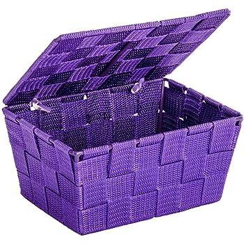 WENKO Aufbewahrungskorb Adria S Beige Füllkörbchen Wäschebox Ablage spielzeugbox