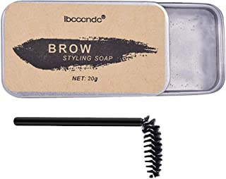 Wild Eyebrow Styling Soap with Brush Eyebrows Makeup Gel Wax Waterproof Long Lasting Eyebrow Cream