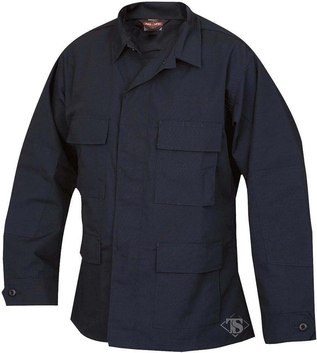 Tru-Spec 1331 Mens Max Shipping included 82% OFF BDU Coat Uniform Shirt Navy Tactical Combat