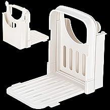 Bread Slicer Adjustable Bread Loaf Slicer Cutter Folding Bread Toast Slicer Sandwich Maker Slicing Machine Bread Cutting G...