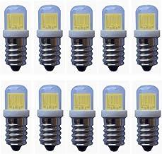 E14 LED lamp 12v 3W (30W Halogeen Equivalent), 240LM, Cob Geleide Bol, niet dimbaar for campers en jachten, 6-Pack [energi...