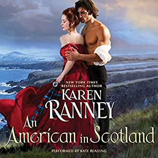 An American in Scotland audiobook cover art
