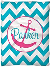 Three Ps In A Pod Chevron Turquoise - Parker