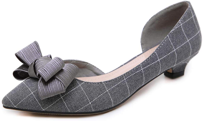 AGOWOO Fashion Dress Nude shoes Kitten Heels Pumps for Women