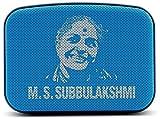 Saregama Carvaan Mini MS Subbulakshmi SCM01 Bluetooth Speakers (Aqua Blue)