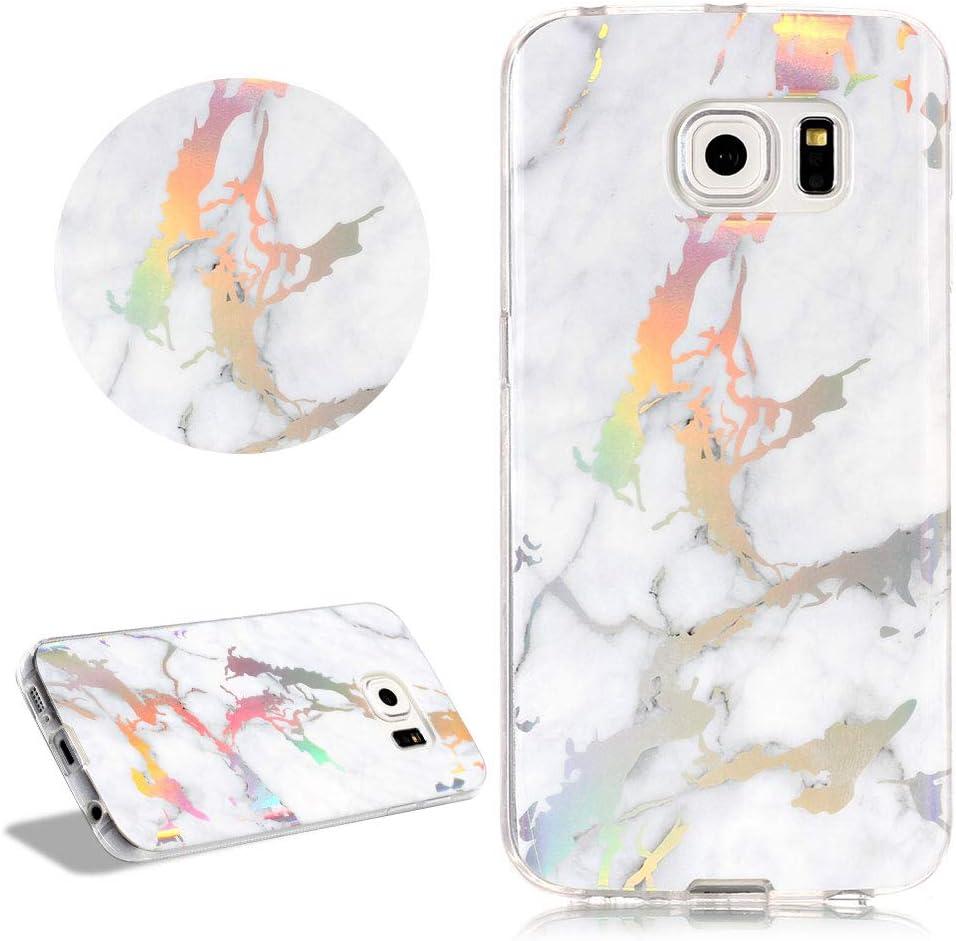 Daskan Glitzer Marmor Muster Hülle Für Samsung Galaxy Elektronik