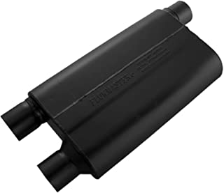 Flowmaster 42583 80 Series Muffler - 2.50 Offset IN / 2.50 Dual OUT - Aggressive Sound