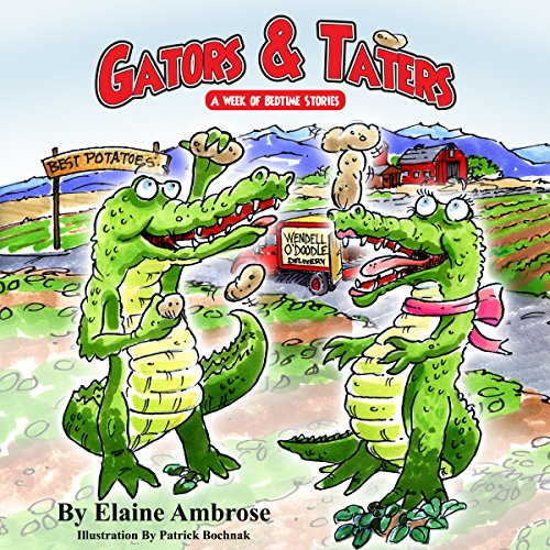 Gators & Taters audiobook cover art