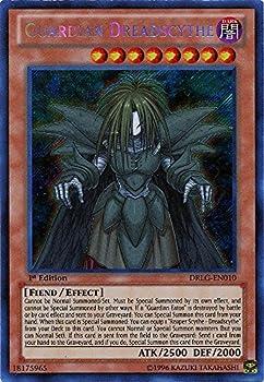 YU-GI-OH! - Guardian Dreadscythe  DRLG-EN010  - Dragons of Legend - 1st Edition - Secret Rare