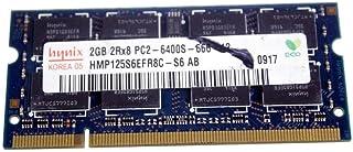 Hynix 2GB DDR2 RAM PC2-6400 200-Pin كمبيوتر محمول SODIMM ميجور/3rd