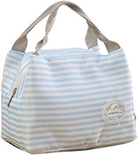 Lunch Bag Tote Bag Pouch Picnic Storage Box Lunch Bag Lunch Box Insulated Lunch Container (Blue)