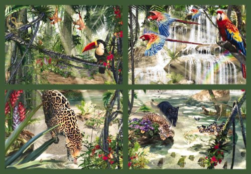 Ravensburger 17834 - Tropische Impressionen, 18.000 Teile Puzzle