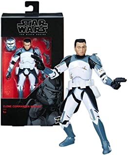 Star Wars The Clone Wars Black Series Clone Commander Wolffe Action Figure [6 Inch]