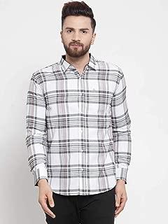 MAFATLAL Men's Checkered Casual Shirt