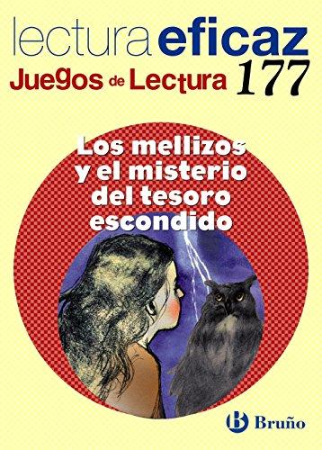 Los mellizos y el misterio del tesoro escondido Juego de Lectura: JL 177 (Castellano - Material Complementario - Juegos De Lectura) - 9788469609033