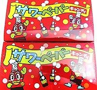 やおきん サワーペーパーキャンディ コーラ(36袋入)× 2箱セット + 限定うまい棒3本付きセット