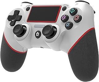 Bluetooth Gamepad para Playstation 4, Controlador de console de jogos com função de vibração, Joystick para jogos de vídeo...