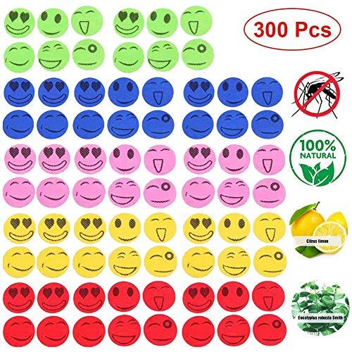Moskito Sticker Kinder, Mückenschutz Aufkleber, Anti-Moskito Aufkleber, Mückenschutz Patch, Insektenschutz Aufkleber, Smiley Aufkleber, Moskito Aufkleber für Outdoor