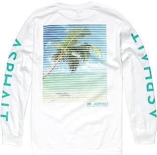 AYC Venetian Palm Mens T-Shirt, White, X-Large