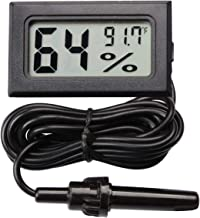 AUTIDEFY Mini Digital Electronic Temperature Humidity Meters Gauge Indoor Thermometer Hygrometer LCD Display Fahrenheit