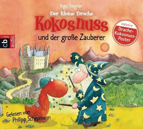Der kleine Drache Kokosnuss und der große Zauberer von Siegner. Ingo (2012) Audio CD
