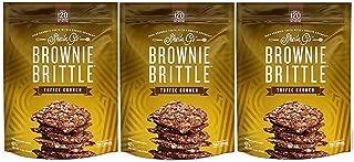 Sheila G's Brownie Brittle 5oz Bag (3 Pack Toffee Crunch)