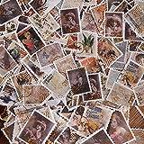 160 Pcs Pegatinas de Sellos Vintage, Pegatinas de Scrapbooking, Pegatina de Sellado DIY Paquete de...