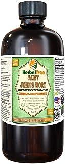 Saint John's Wort (Hypericum Perforatum) Glycerite, Organic Dried Herb Alcohol-Free Liquid Extract (Brand Name: HerbalTerra, Proudly Made in USA) 32 fl.oz (0.95 l)