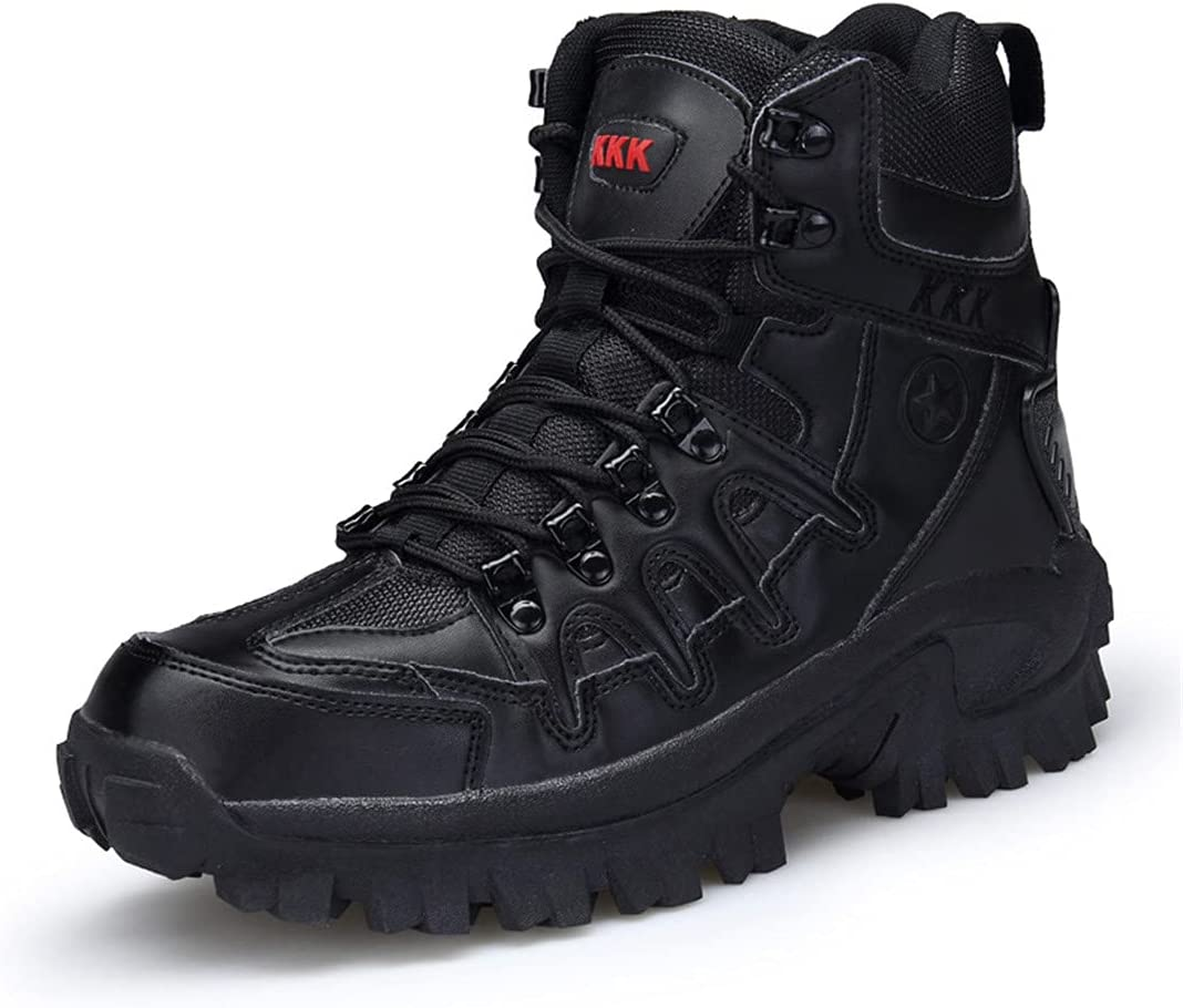Danoensit Outdoor Recommended Army Tactical Boots Shoes Men Rare Hiking Trekking