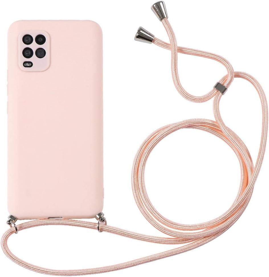 ZhuoFan Funda con Cuerda para Xiaomi Redmi Note 9 Pro//9S//9 Pro MAX Carcasa de Silicona Suave Case con Colgante Cordon Colgar Correa de Cuello para el tel/éfono Antichoque M/óvil Bumper 6.67-Amarillo