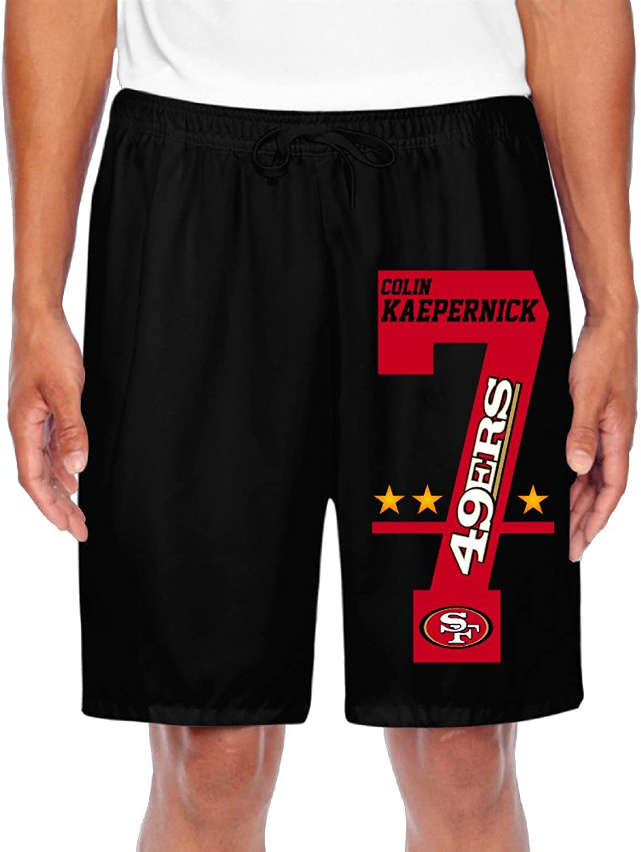 Men's San Francisco 49ers Colin Kaepernick  7 Shorts Gym