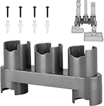 EEEKit Docks Station Accessory Holder Attachments Organizer Compatible with Dyson V10 V8 V7 Cordless Stick Vacuum Cleaner,Wall Mount Accessories for Dyson Vacuums,Grey, 1 Pack