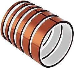 Haude 33M High Temp Tapes Film Adhesive Tape,Goed gewerkt voor maskeren,Solderen,Poedercoating,Afdrukken PCB Board Verpakk...
