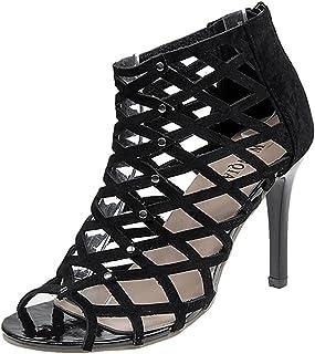708cc7e3aa Gaorui Women's Sexy Platform Ankle Strap Heels Sandals Peep Toe Stiletto  Pumps Party Dress Shoes Gladiator