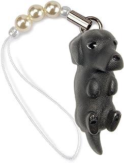 ペットラバーズ 犬種 Dog 92 Labrador Retriever ラブラドール ブラック ビーズ ストラップ DN-1103