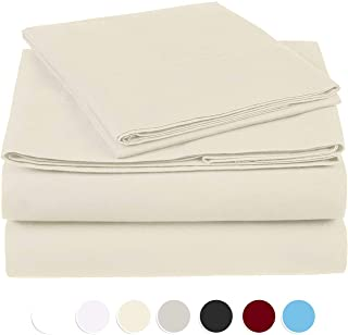 Moonstone Organic Cotton Sheet Set fits mattresses up to 15