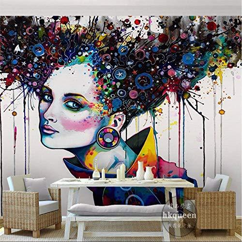 mariposa orquídea flores murales 3D TV foto telón de fondo papel tapiz 200×150cm