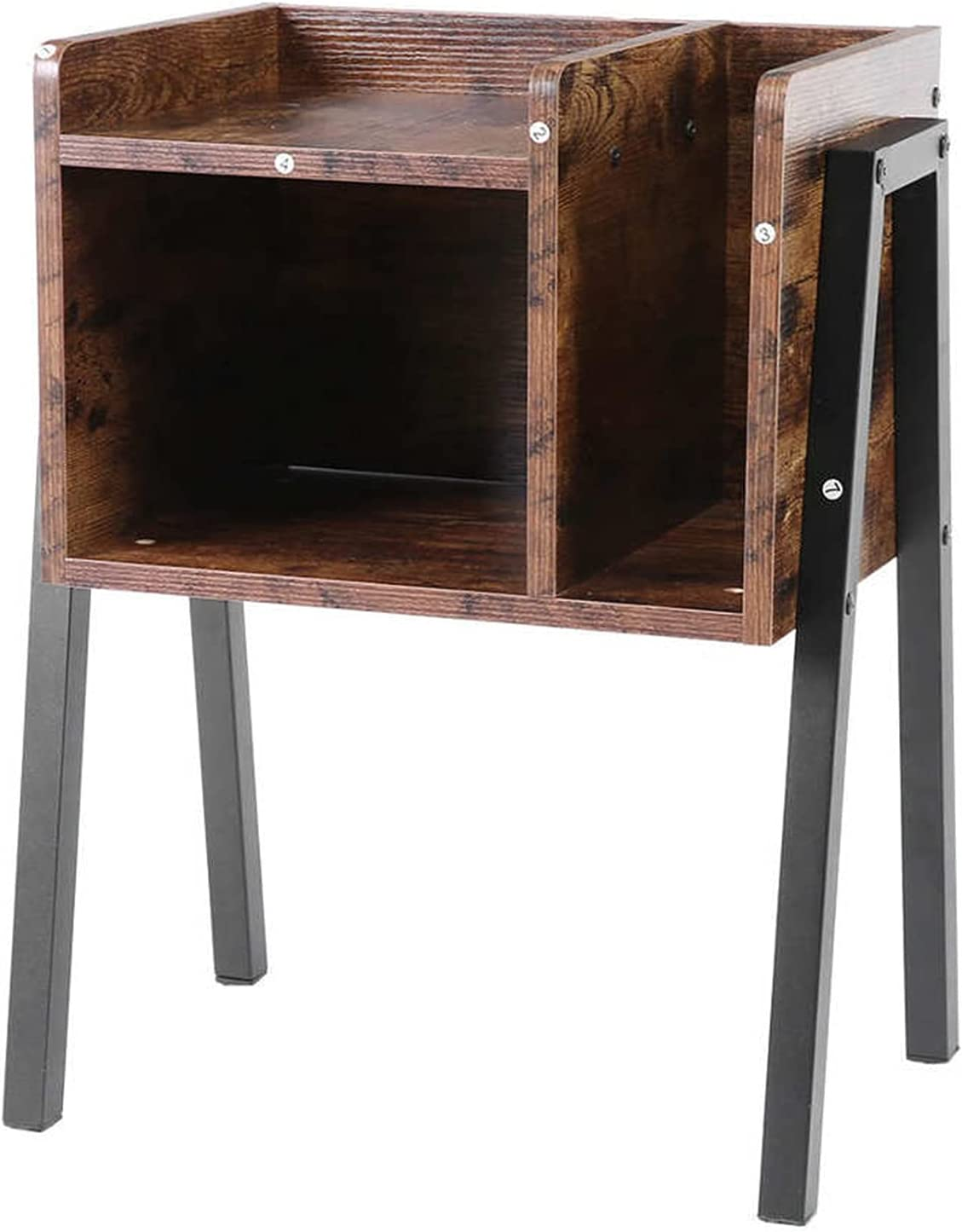 Tampa Mall LYUN Nightstand Stackable End Table with Storage Tables Bedside trust