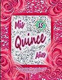 """Mi Fiesta Quinceañera con Tema Arco Iris Registro de Invitados """"Guest Book"""" Mis Lindos Recuerdos (Quinceañera Series)"""